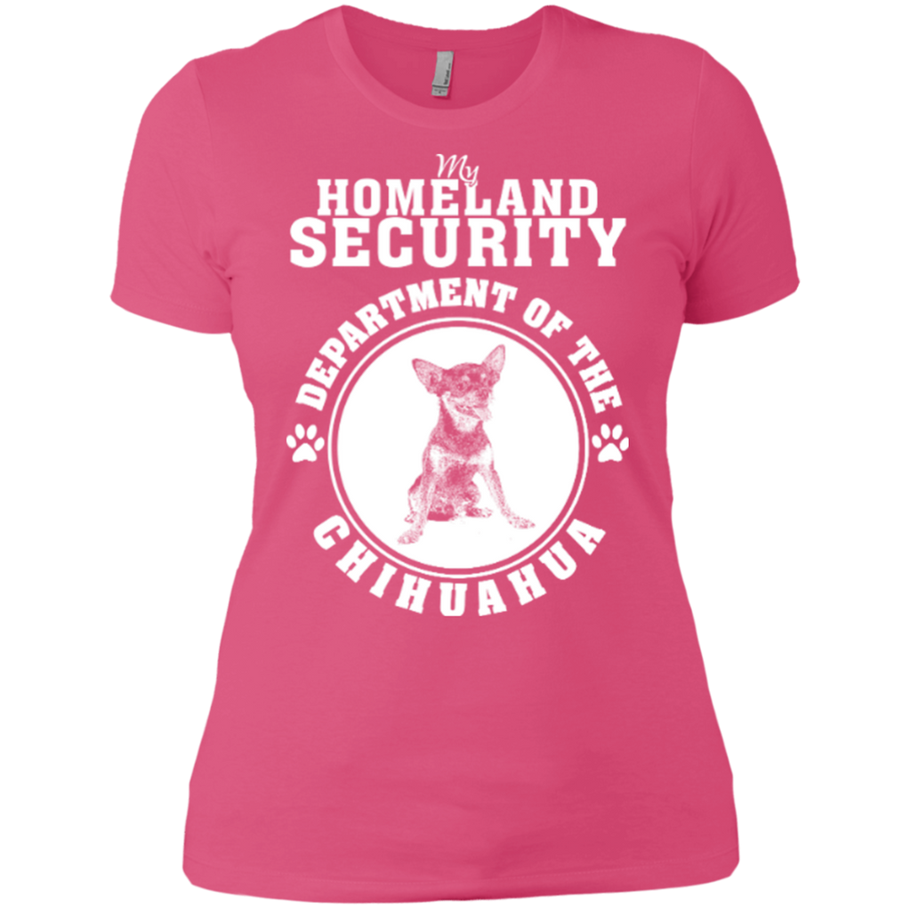 Chihuahua Security Fitted Tee