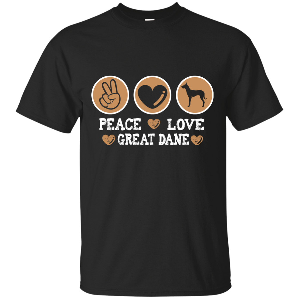 Peace Love Dane Ultra Cotton T-Shirt