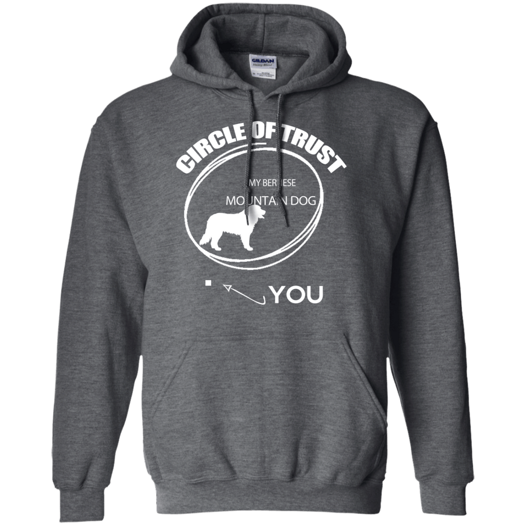Bernese Mountain Dog Cirlcle of Trust Pullover Hoodie