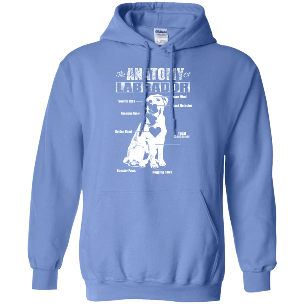 Anatomy Of Labrador Pullover Hoodie