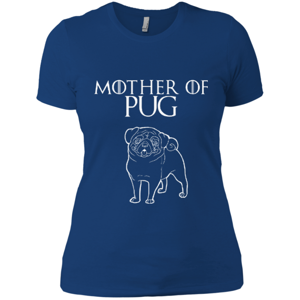 Mother Of Pug Fitted Tee
