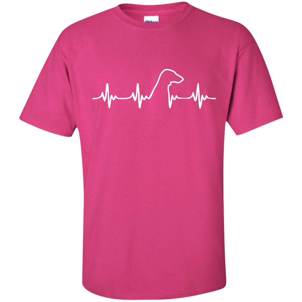 Dachshund Heartbeat Ultra Cotton T-Shirt
