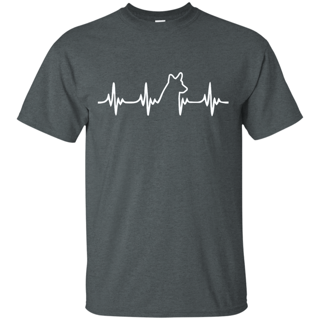 Welsh Corgi Heartbeat Ultra Cotton T-Shirt