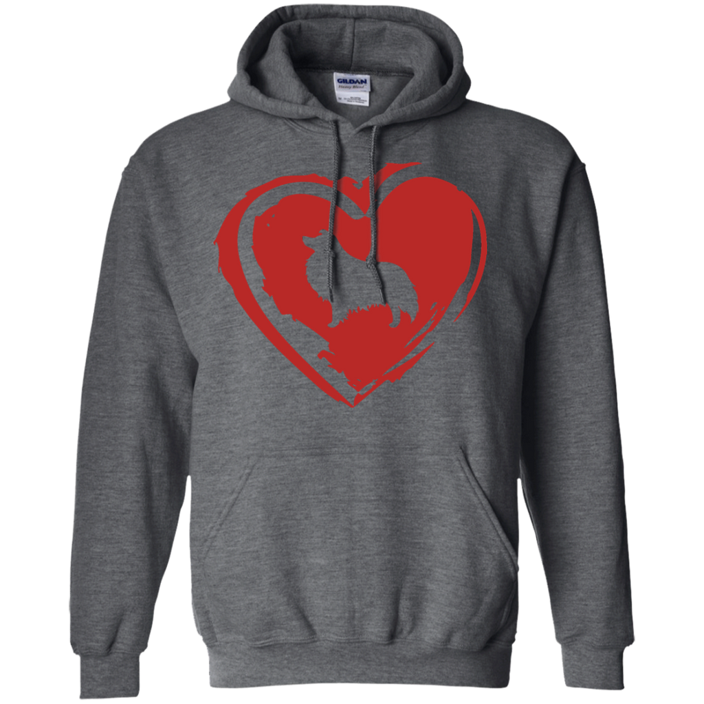 Love My Sheltie Pullover Hoodie