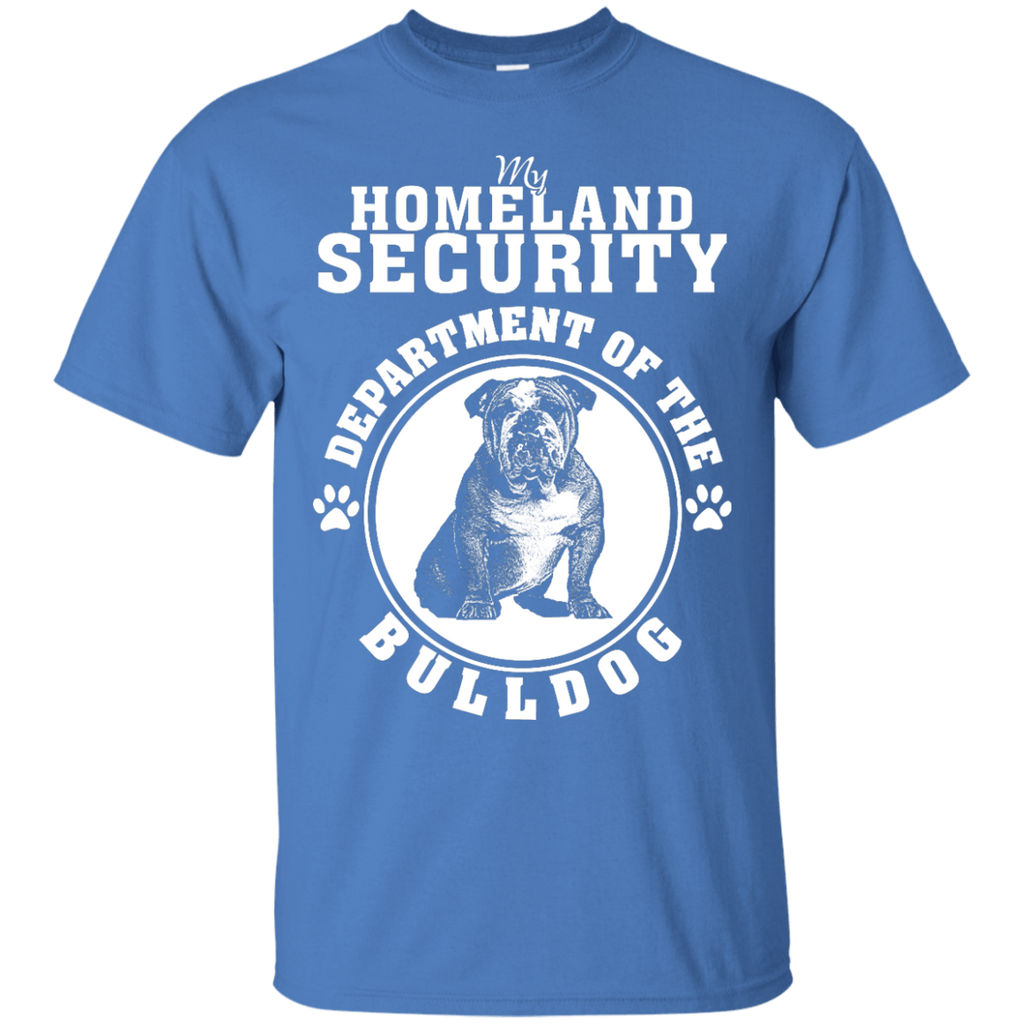 Bull Dog Homeland Security T-Shirt