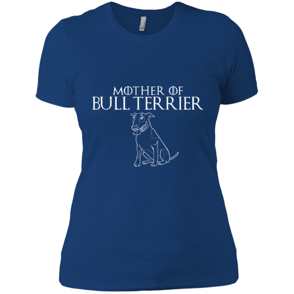 Mother Of Bull Terrier Fitted Tee