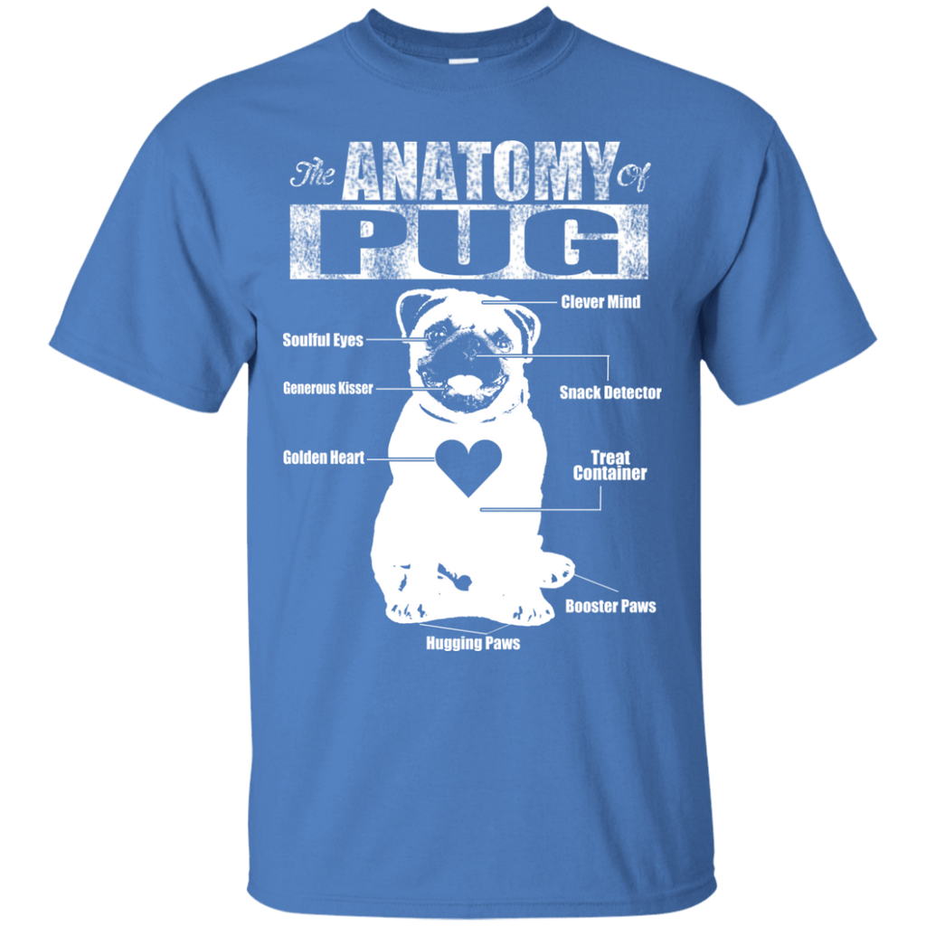 Anatomy Of Pug Ultra Cotton Tee
