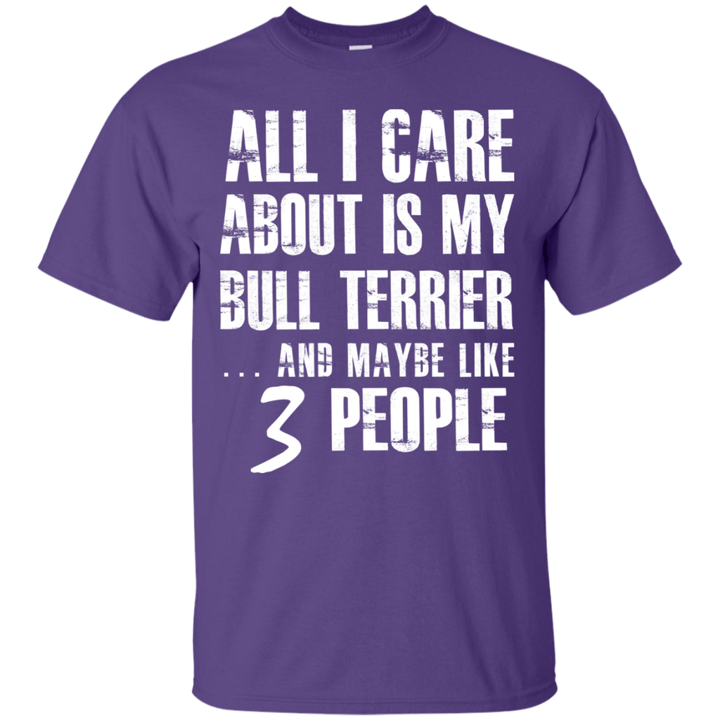 Bull Terrier 3 People Ultra Cotton T-Shirt