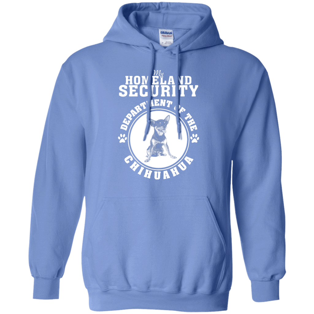 Chihuahua Homeland Security Pullover Hoodie