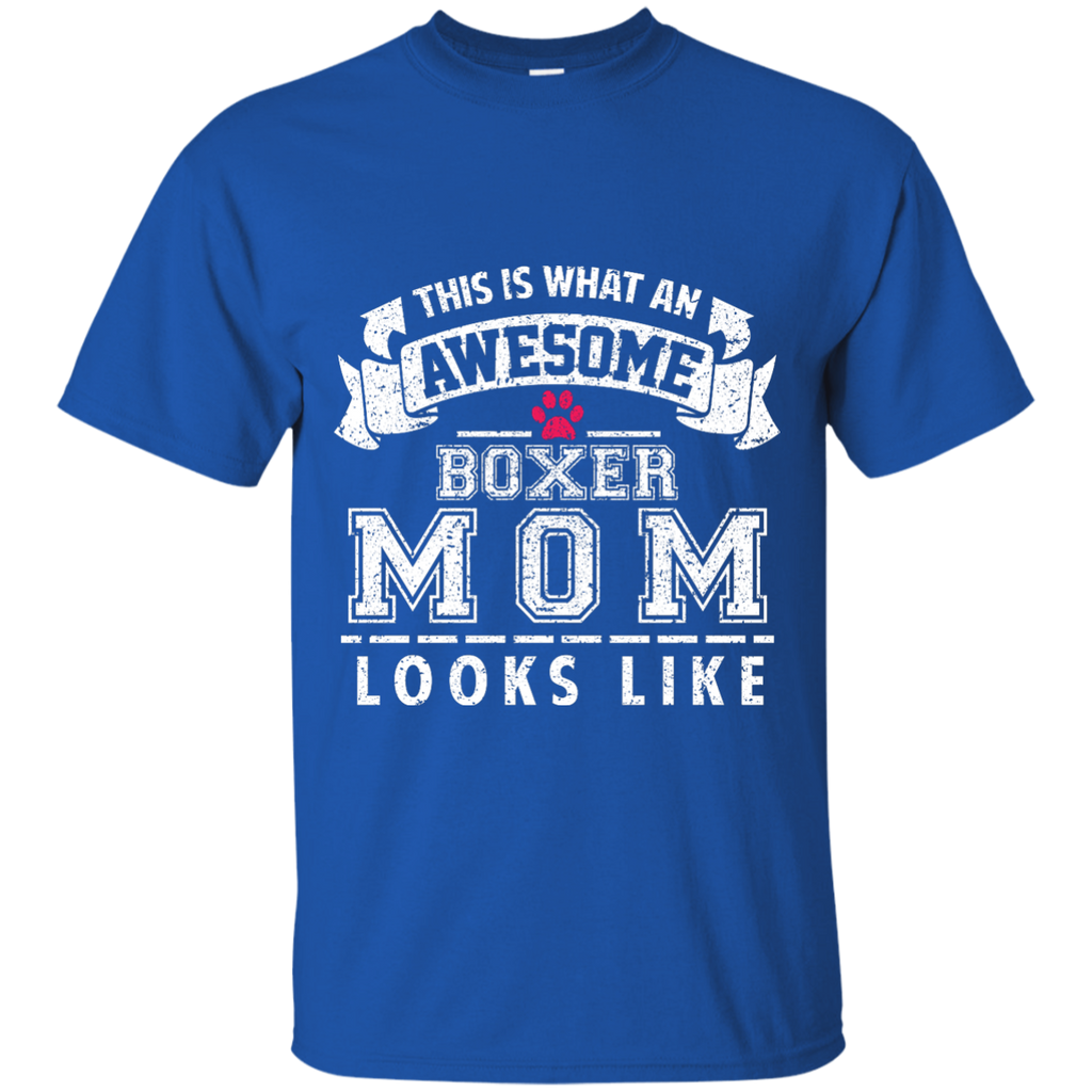 Awesome Boxer Mom Ultra Cotton T-Shirt