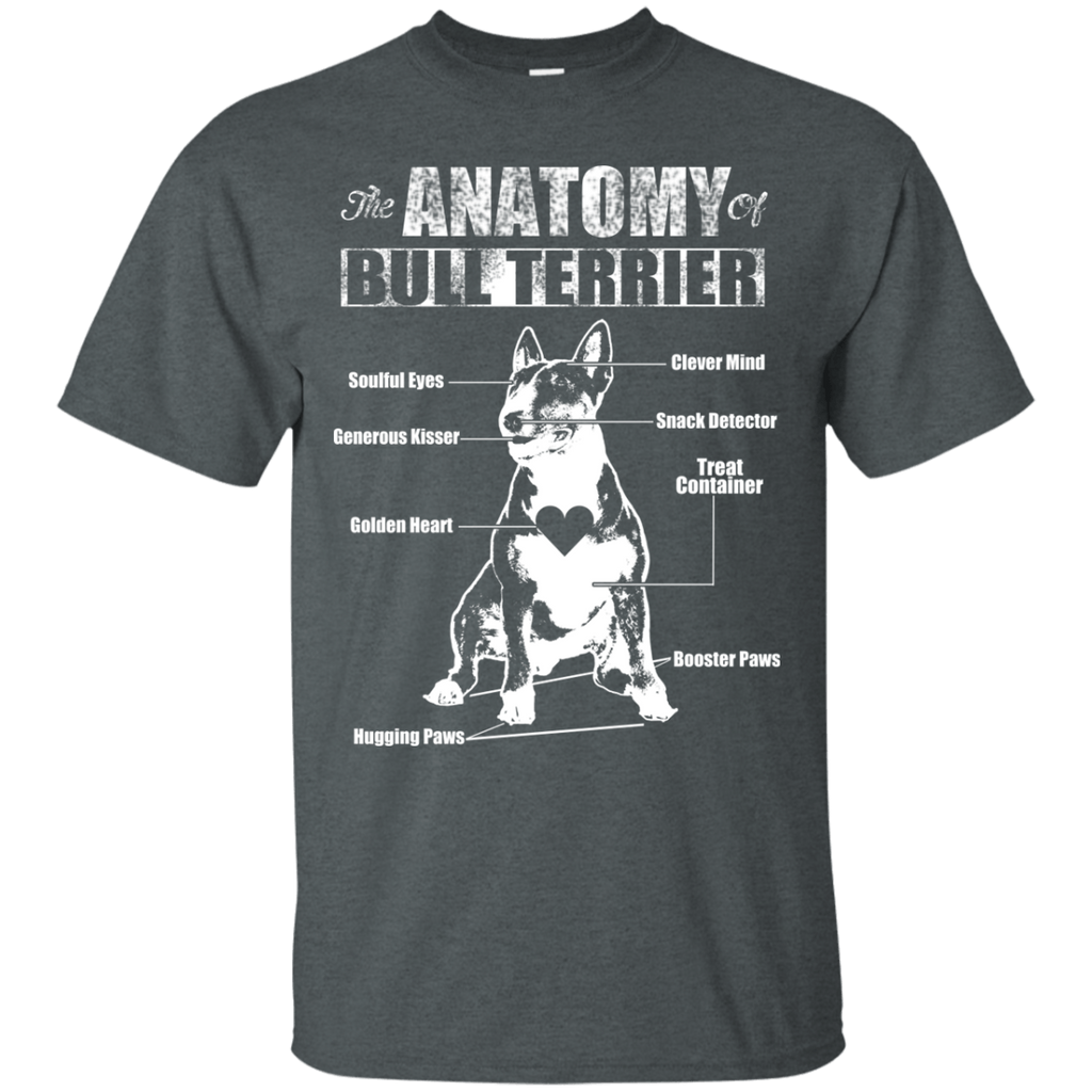 Anatomy Of Bull Terrier Ultra Cotton Tee