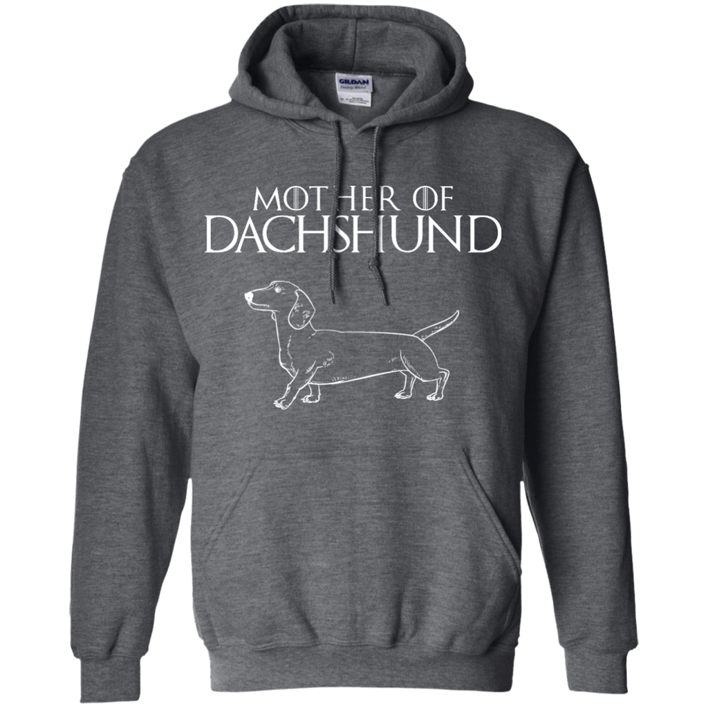 Mother Of Dadhshund Pullover Hoodie