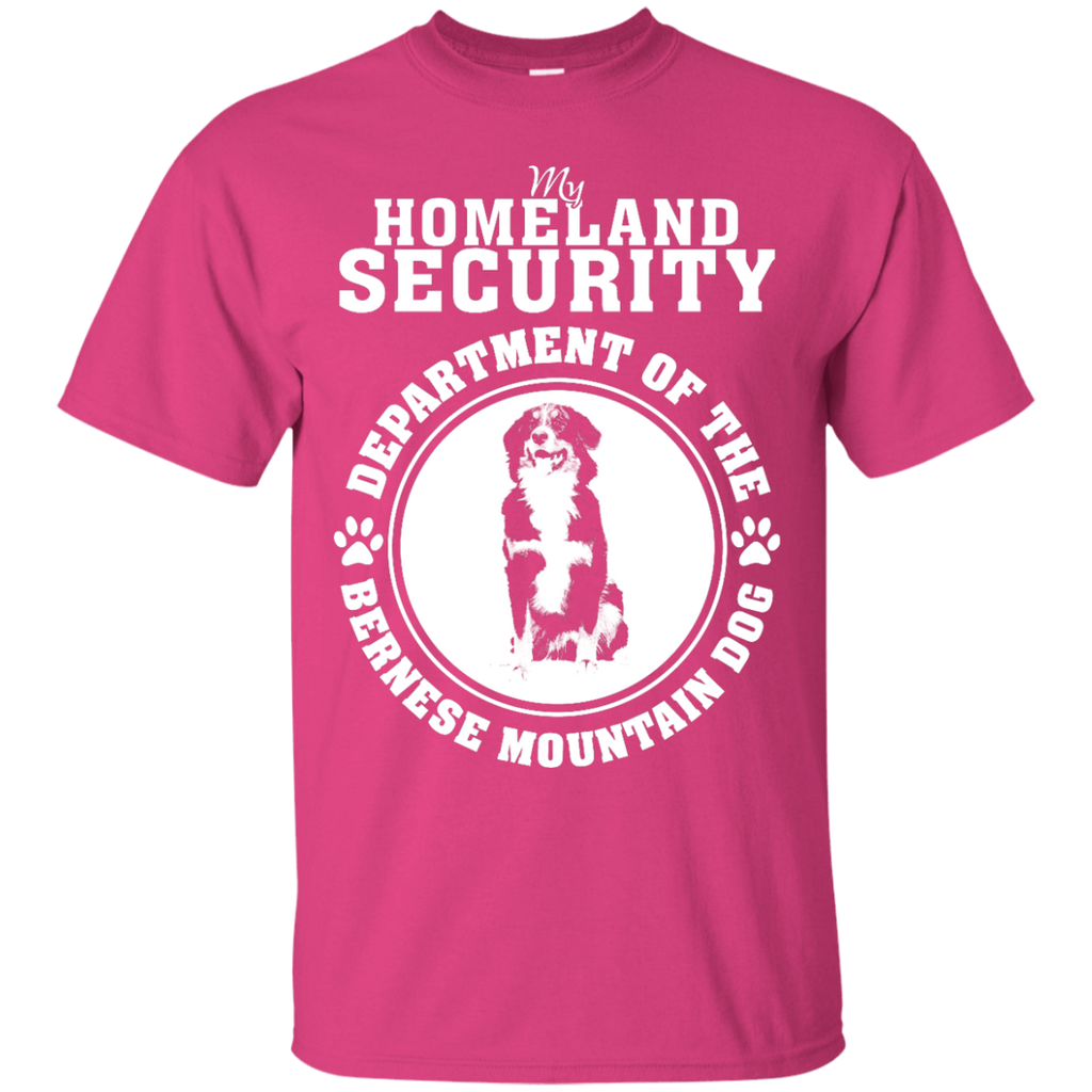 Bernese Mountain Dog My Homeland Security T-Shirt