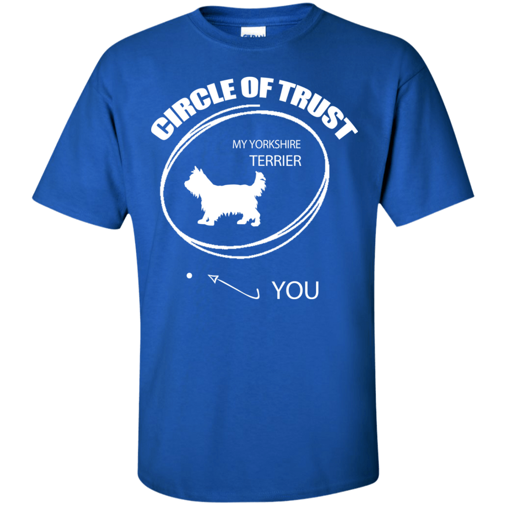 Yorkie Circle Of Trust Ultra Cotton T-Shirt