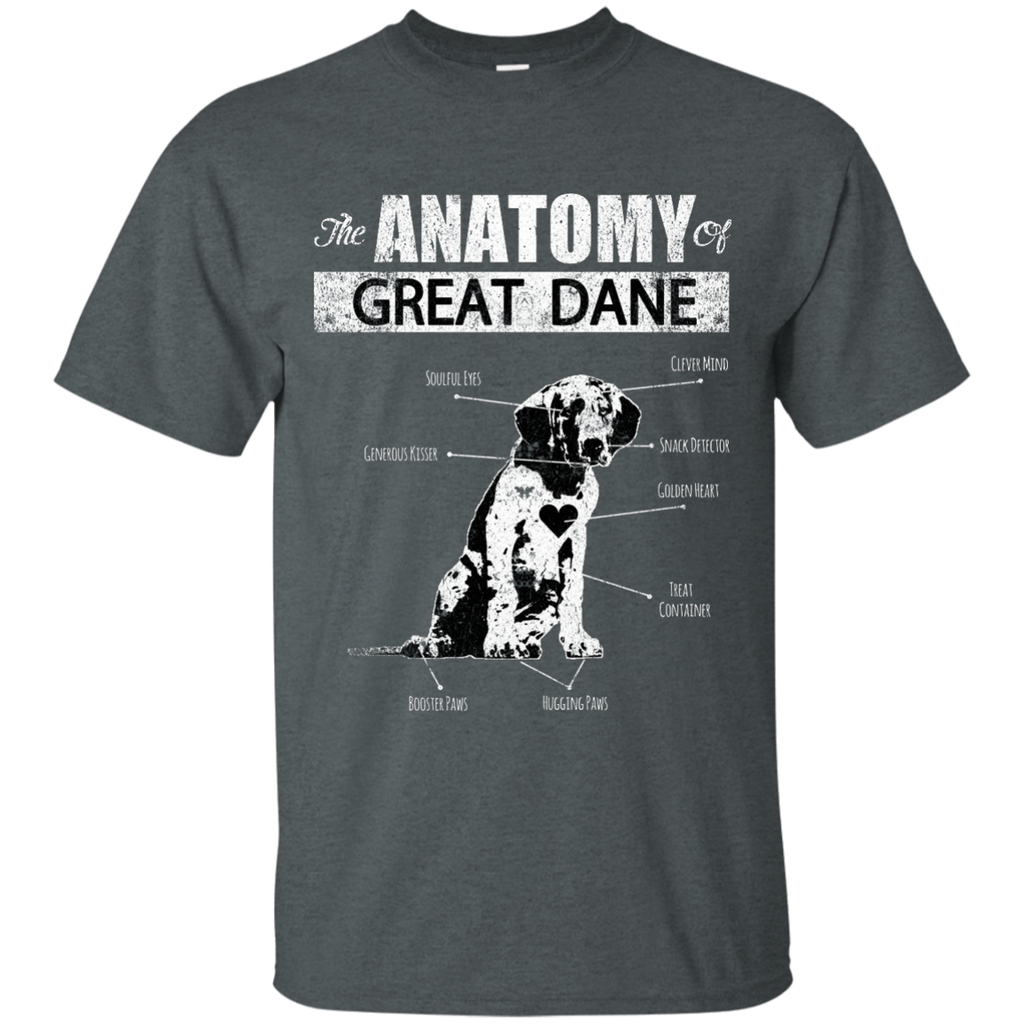 Anatomy Of Great Dane Ultra Cotton T-Shirt