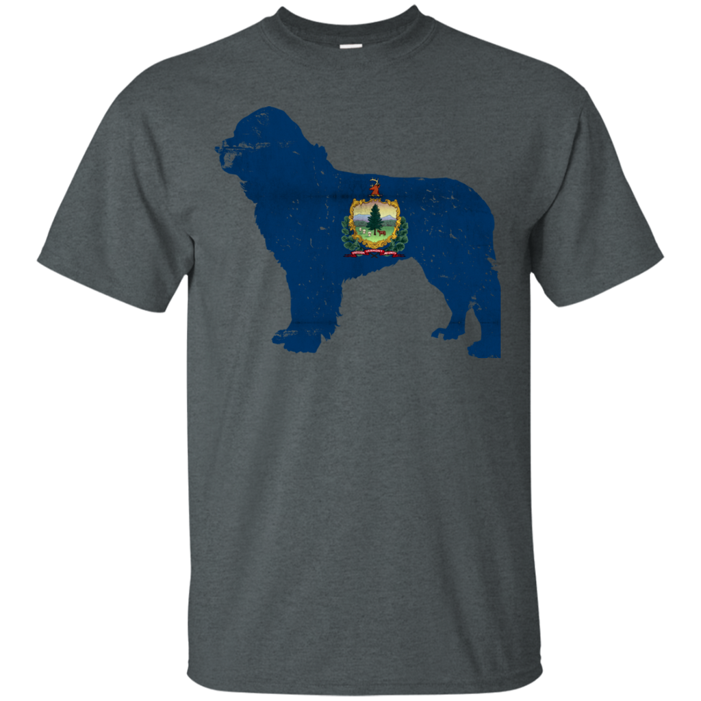 Newfie Vermont Flag Ultra Cotton T-Shirt