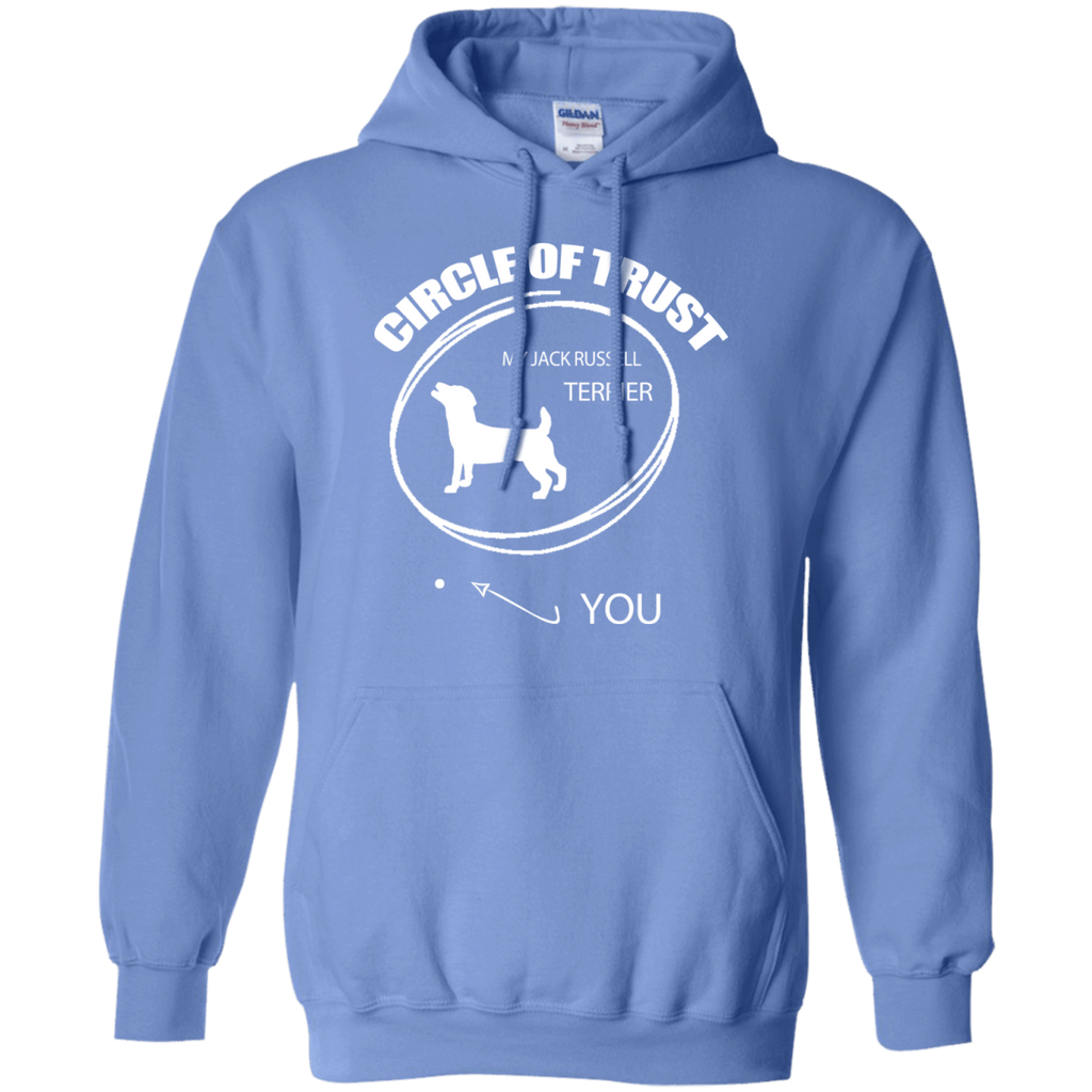 Jack Russell Terrier Cirlcle of Trust Pullover Hoodie
