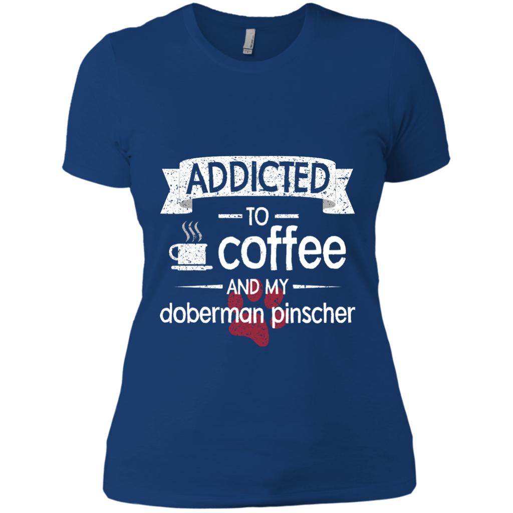 Addicted Doberman Fitted Tee