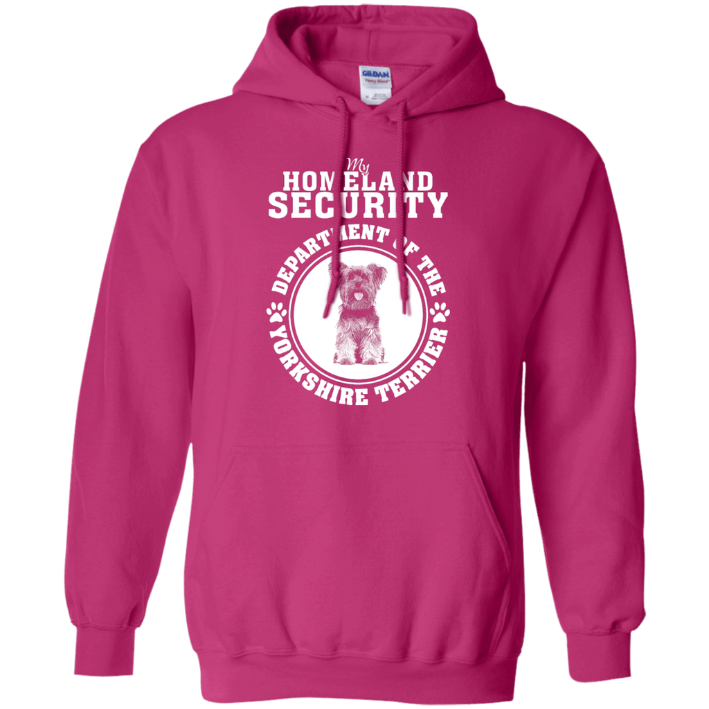 Yorkshire Terrier Homeland Security Pullover Hoodie
