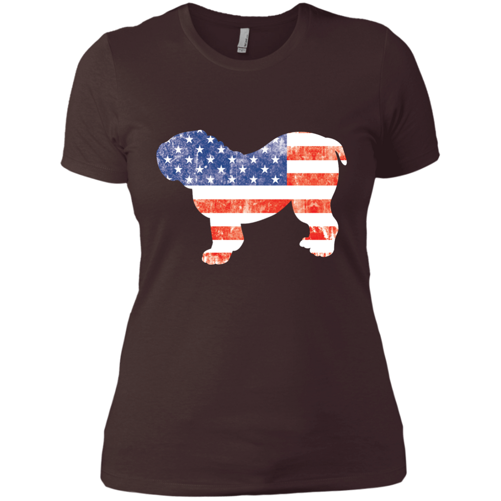 USA Bulldog Fitted Tee