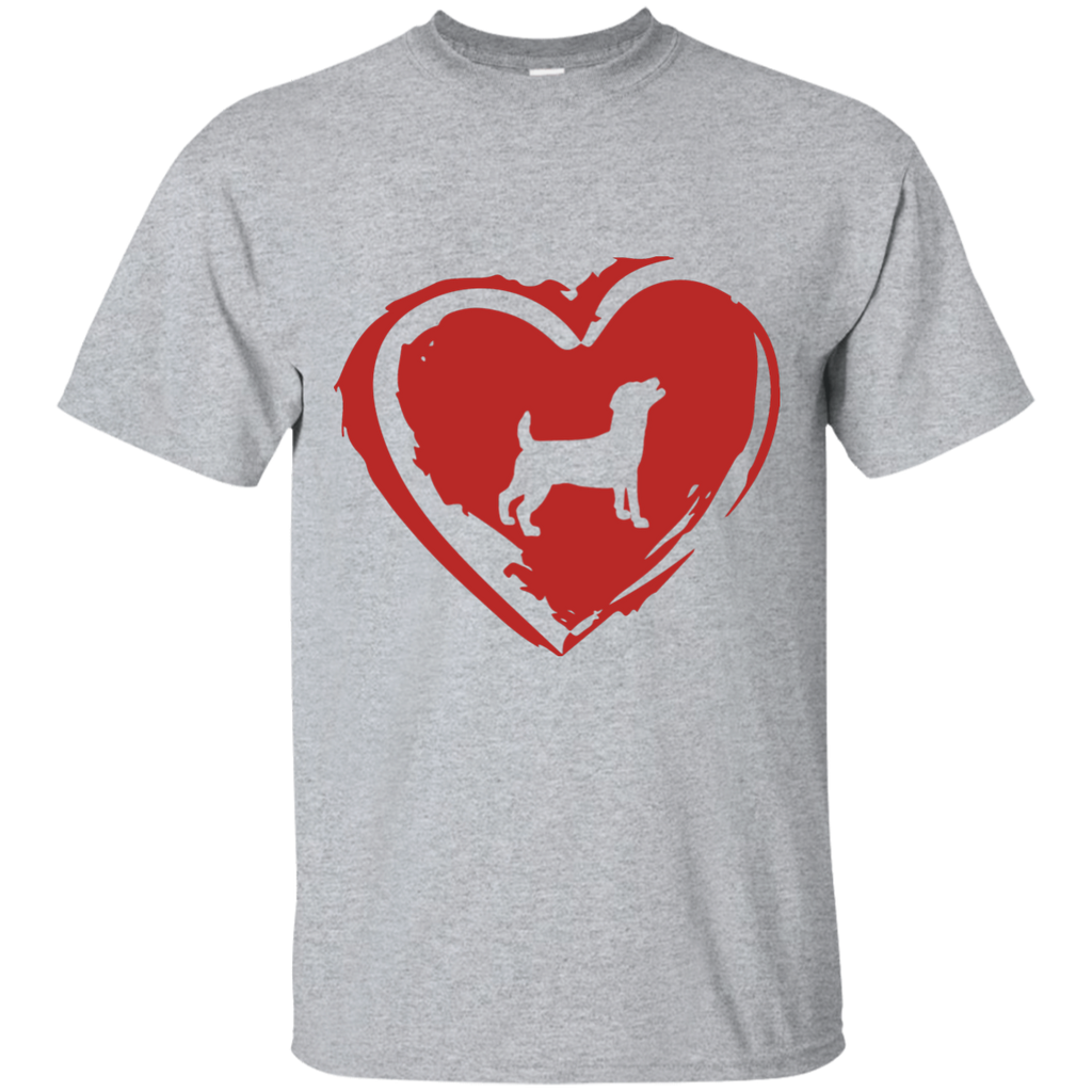 Love My Jack Russell Ultra Cotton T-Shirt