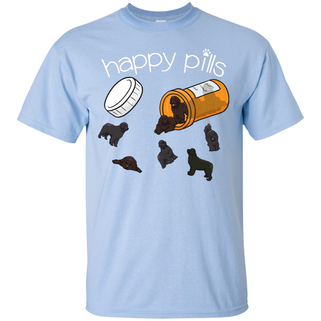 Newfie Happy Pills Ultra Cotton T-Shirt
