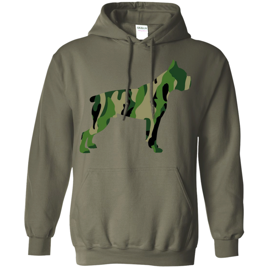 Camo Boxer Pullover Hoodie
