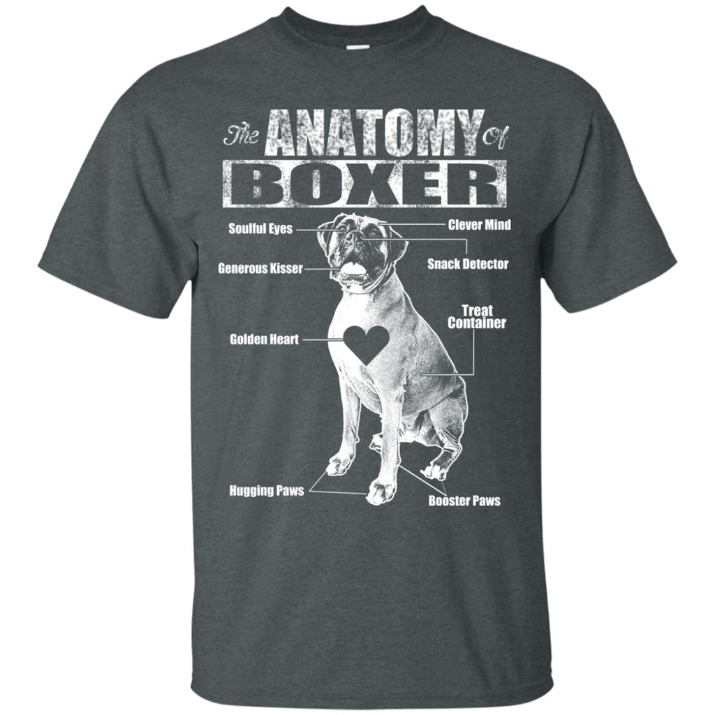Anatomy Of Boxer Ultra Cotton T-Shirt