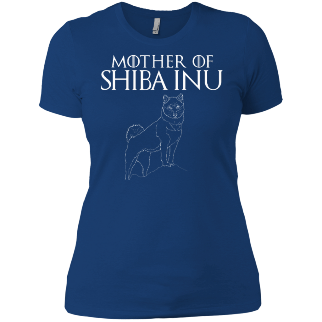 Mother Of Shiba Inu Fitted Tee