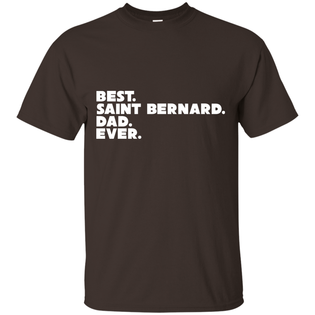 Best St. Bernard  Dad Ultra Cotton T-Shirt