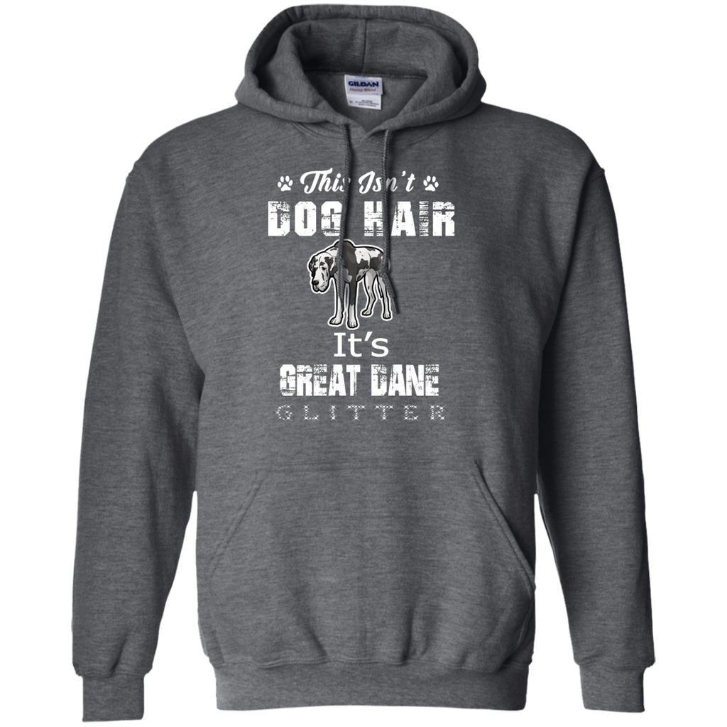 Glitter Great Dane Pullover Hoodie