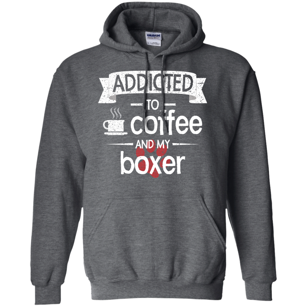 Addicted Boxer Pullover Hoodie