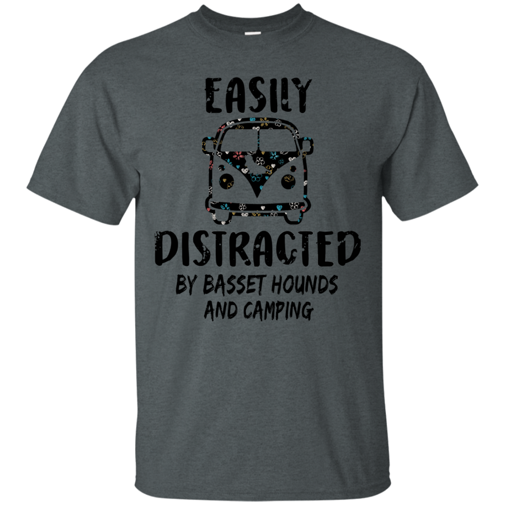 Basset Hound And Camping Ultra Cotton T-Shirt