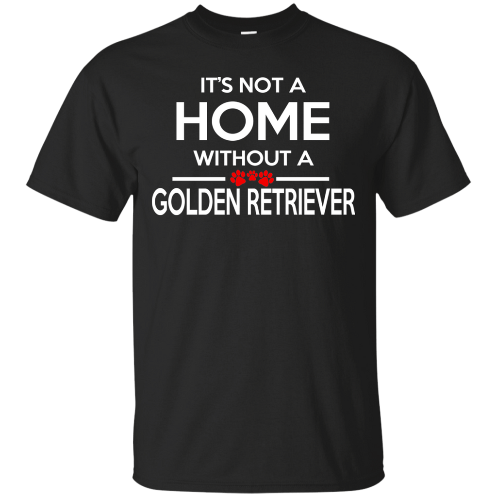 Golden Retriever Home Ultra Cotton T-Shirt