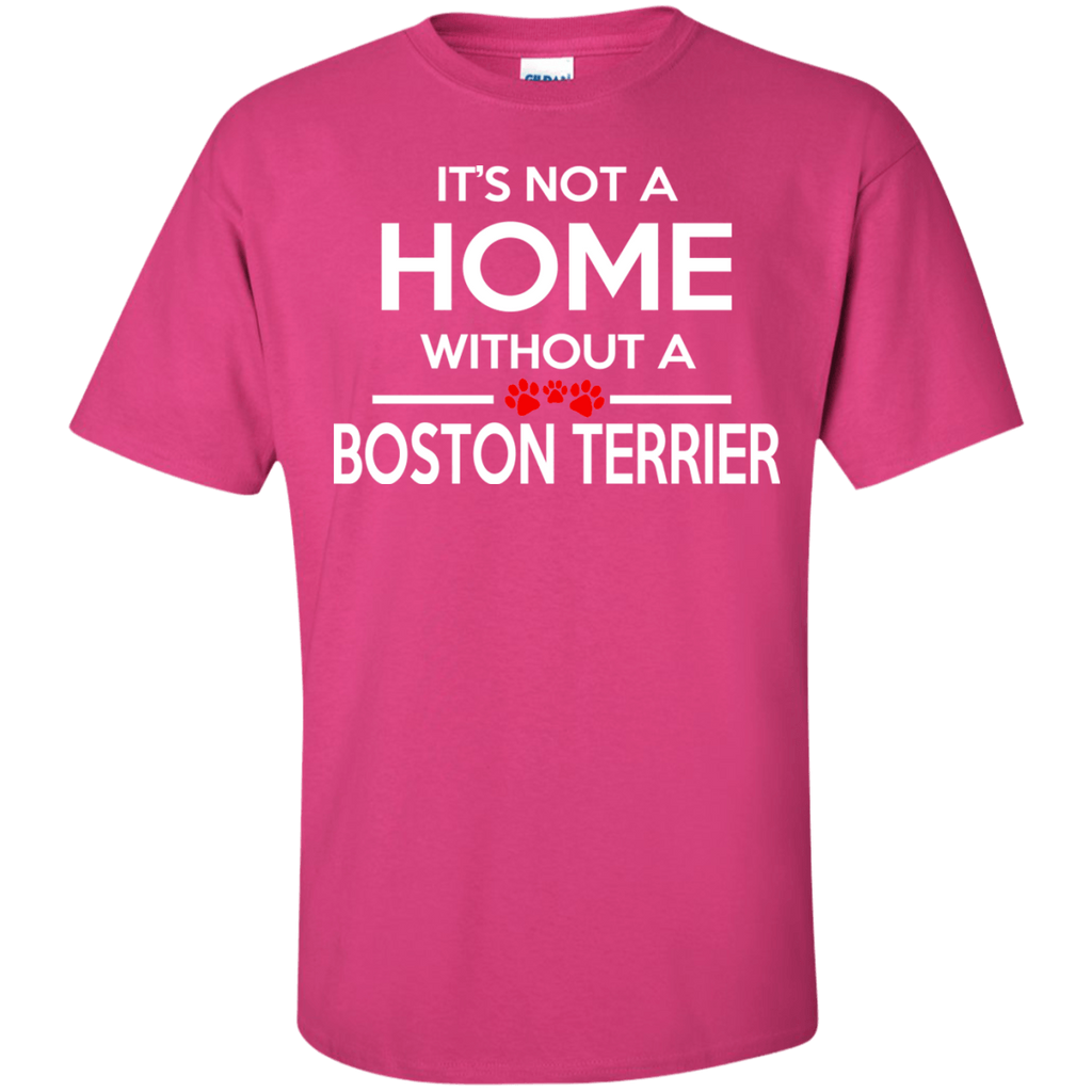 Boston Terrier Home Ultra Cotton T-Shirt