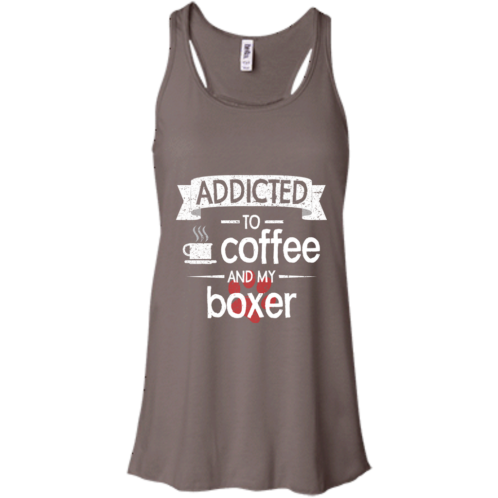 Addicted Boxer Racerback Tank
