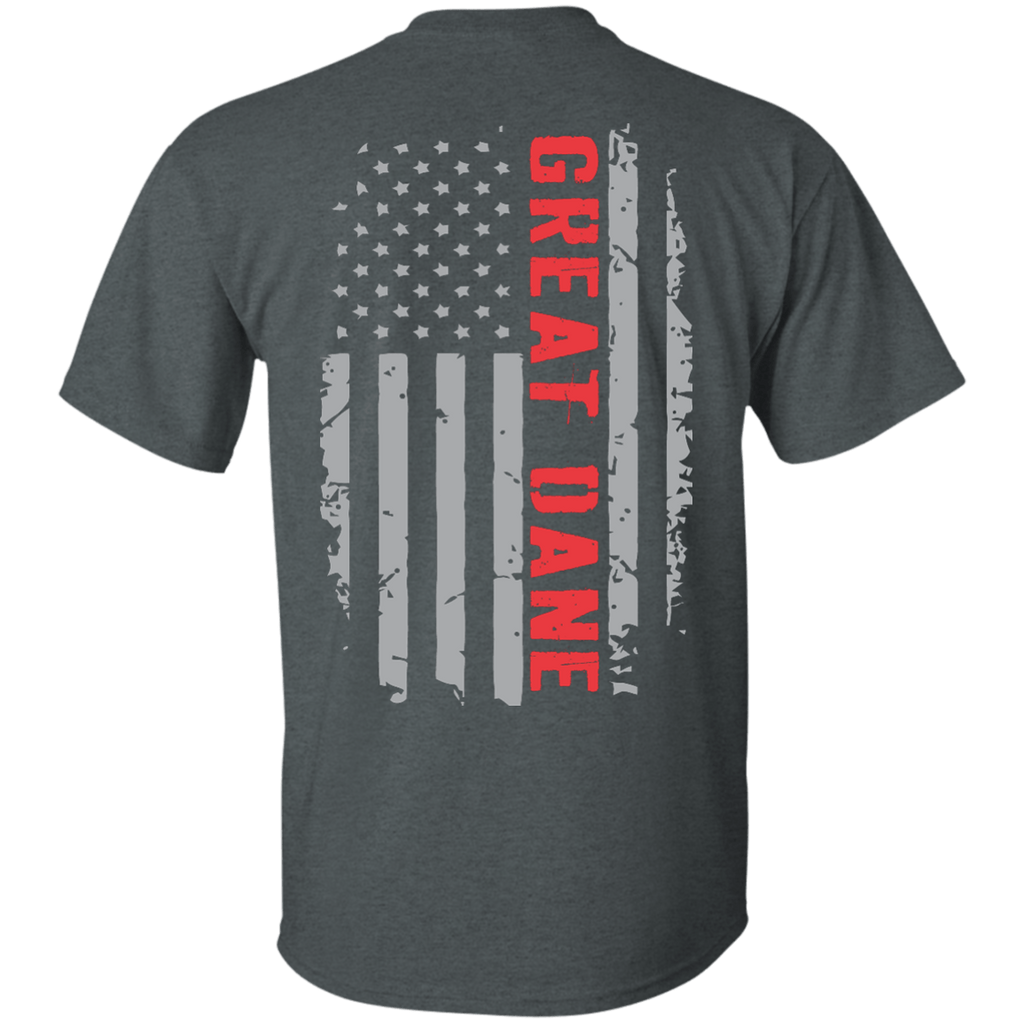 Great Dane American Flag Ultra Cotton T-Shirt