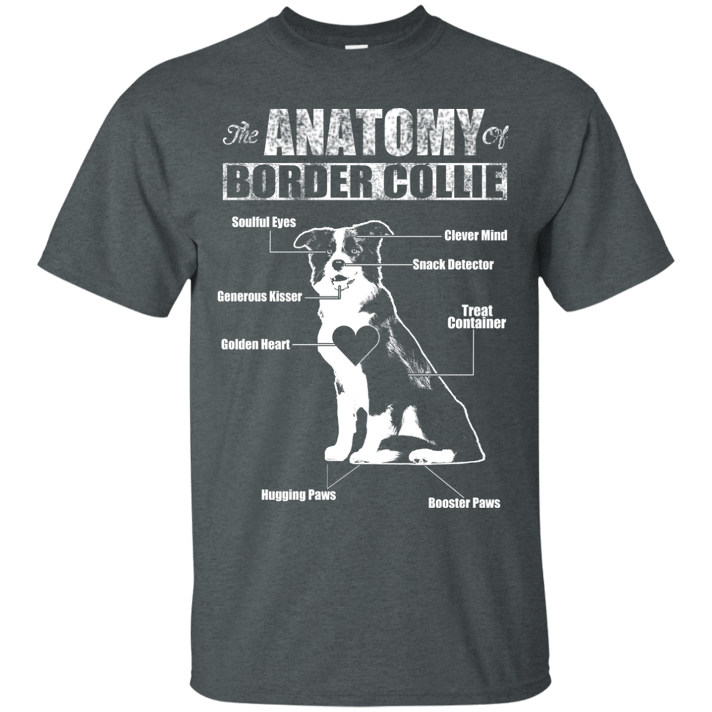 Anatomy Of Border Collie Ultra Cotton T-Shirt