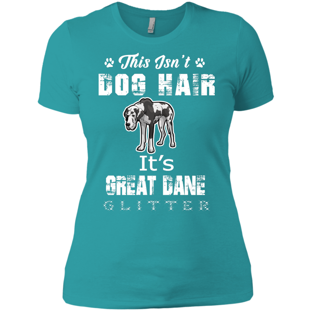 Glitter Great Dane Fitted Tee