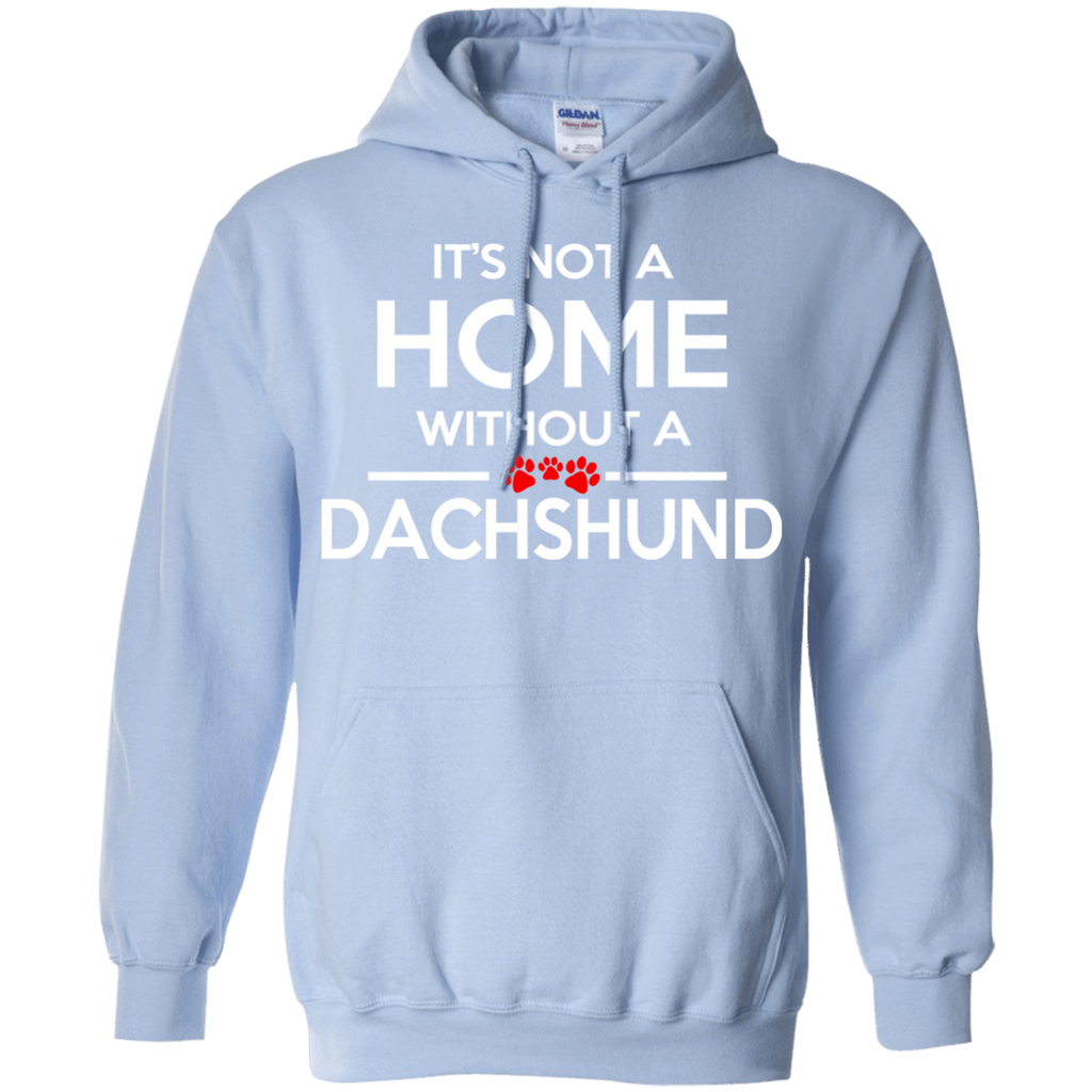 Dachshund Home Pullover Hoodie