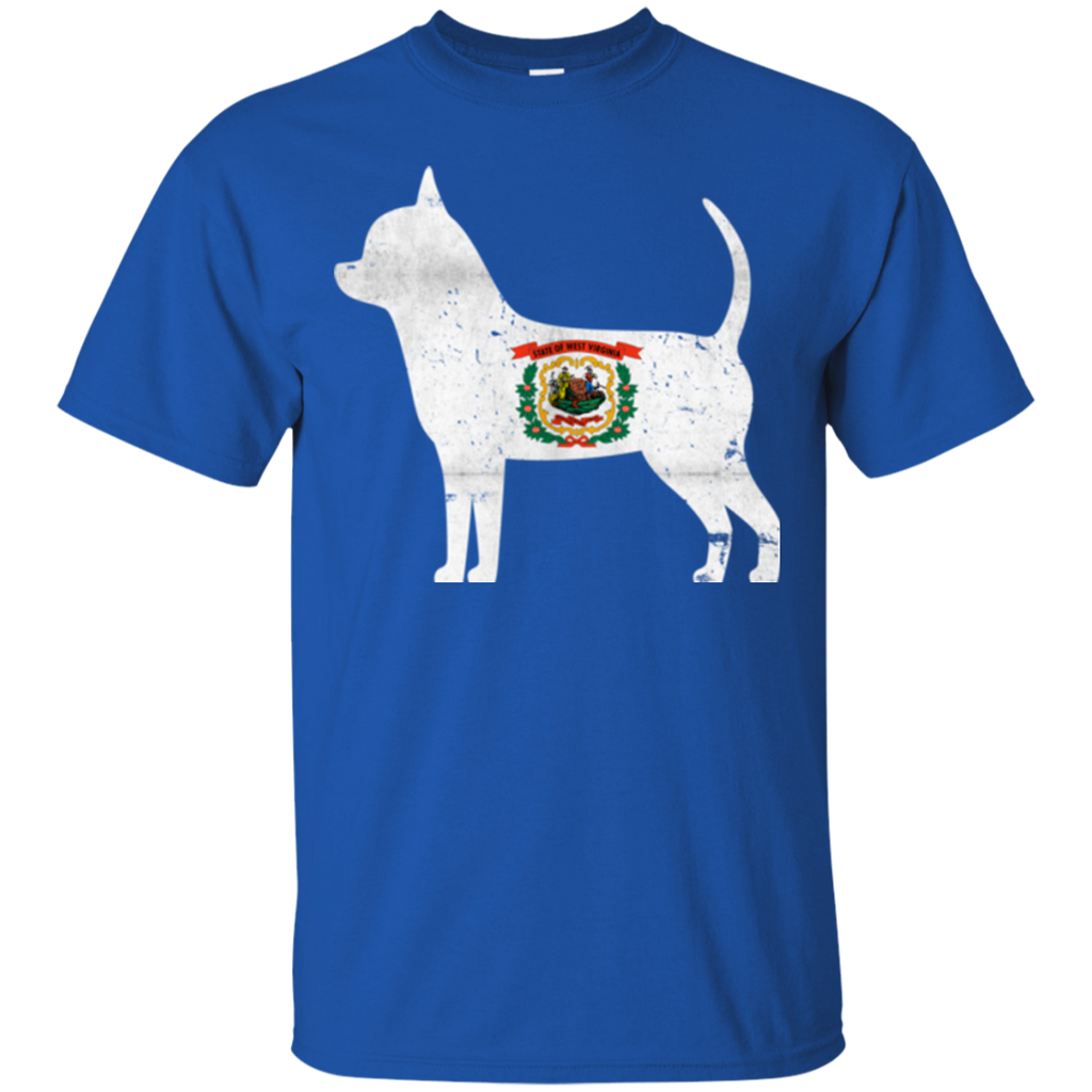 Chihuahua West Virginia Flag Ultra Cotton T-Shirt