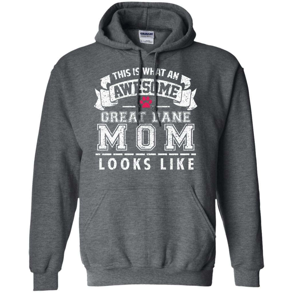 Great Dane Awesome Mom Pullover Hoodie