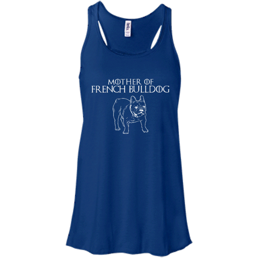 Mother Of Frenchie Racerback Tank