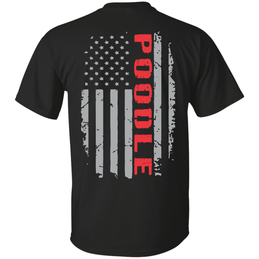 Poodle Flag Ultra Cotton T-Shirt