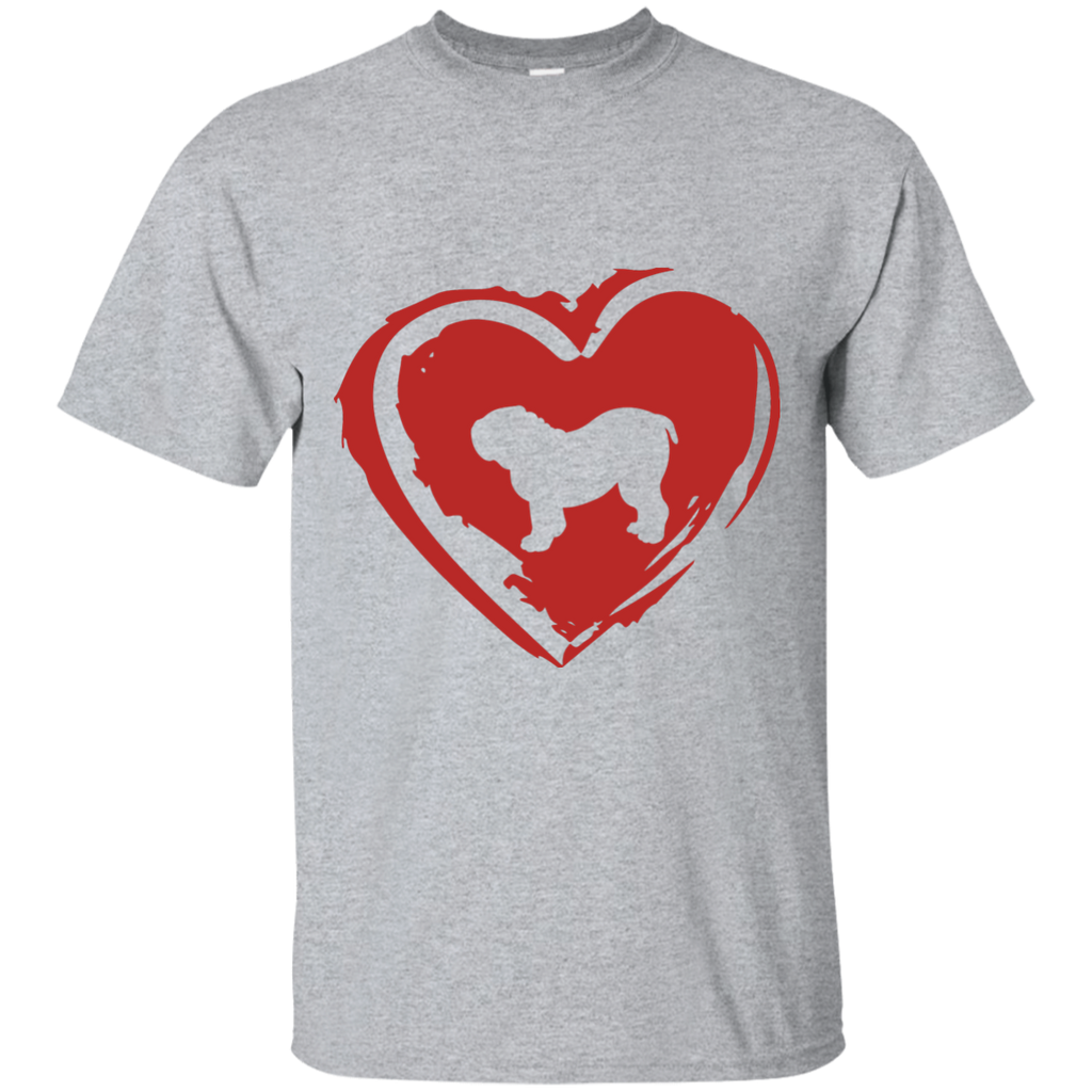 Love My Bulldog Ultra Cotton T-Shirt