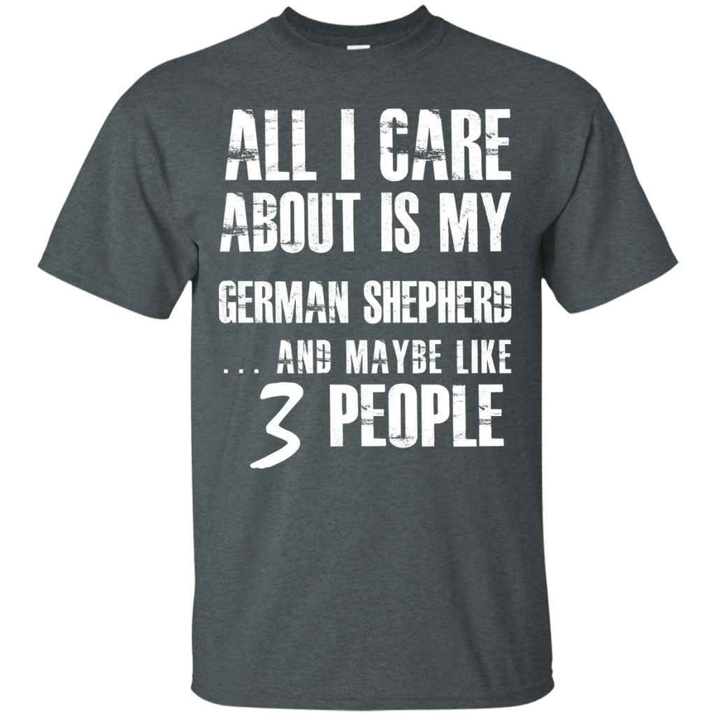 German SHepherd 3 People Ultra Cotton T-Shirt