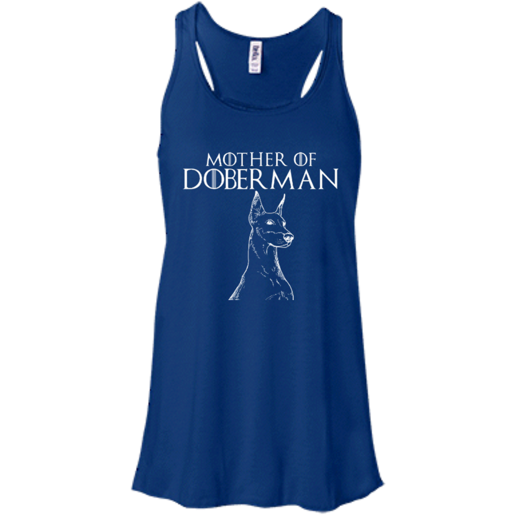 Mother Of Doberman Racerback Tank
