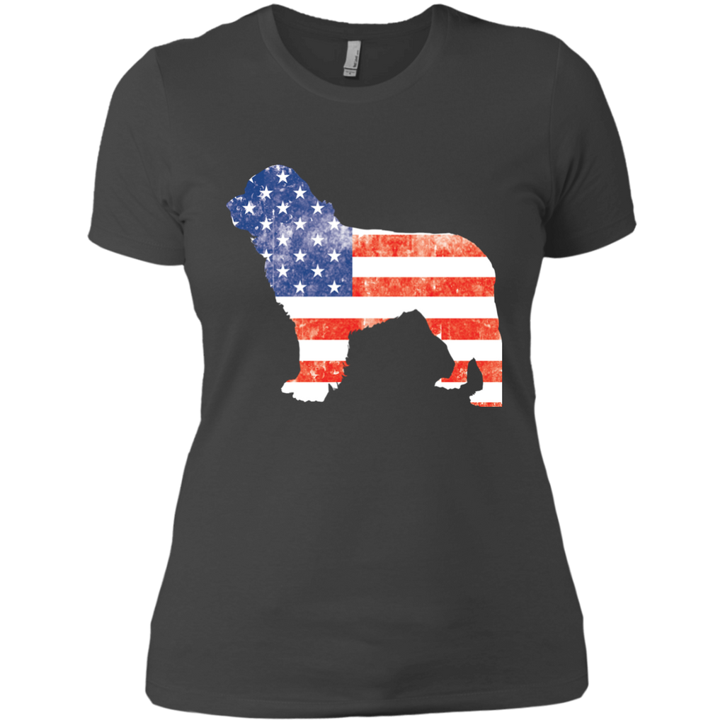 USA Newfie Fitted Tee