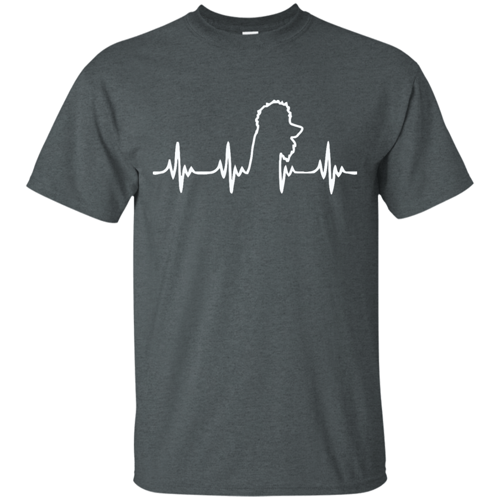 Poodle Heartbeat Ultra Cotton T-Shirt