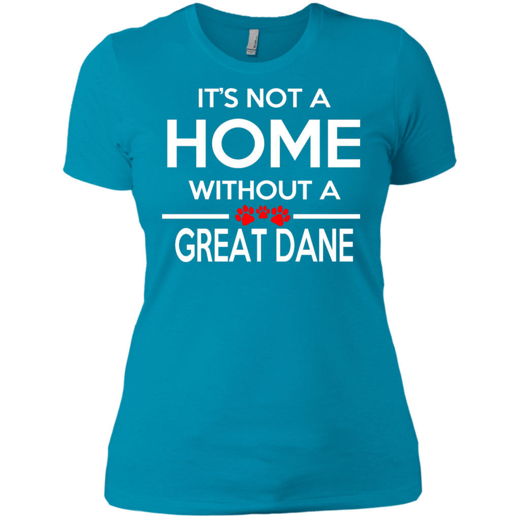 Not A Home Great Dane Fitted Tee